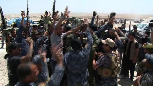 Iraqi forces close in on Fallujah