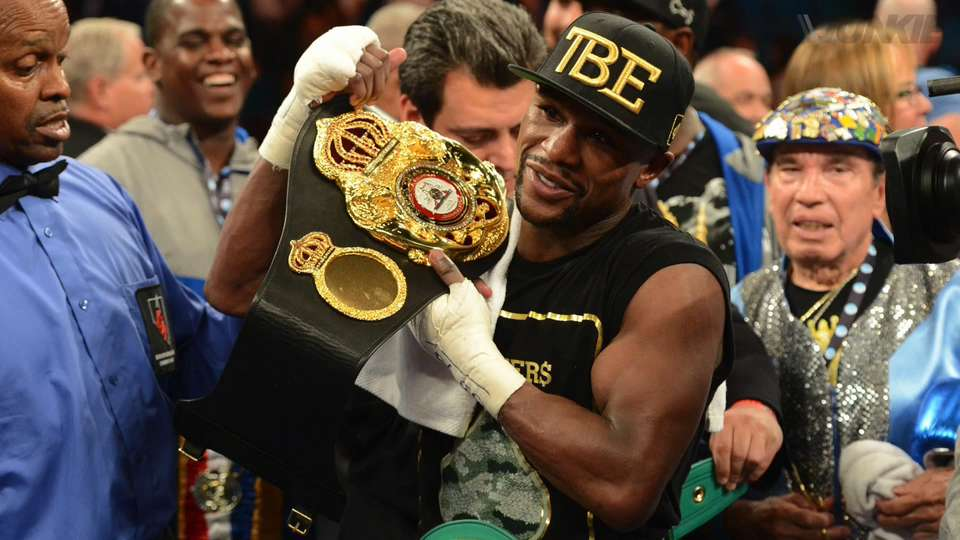 Aljamain Sterling ready to throw his hat into the ring with Mayweather.m4v