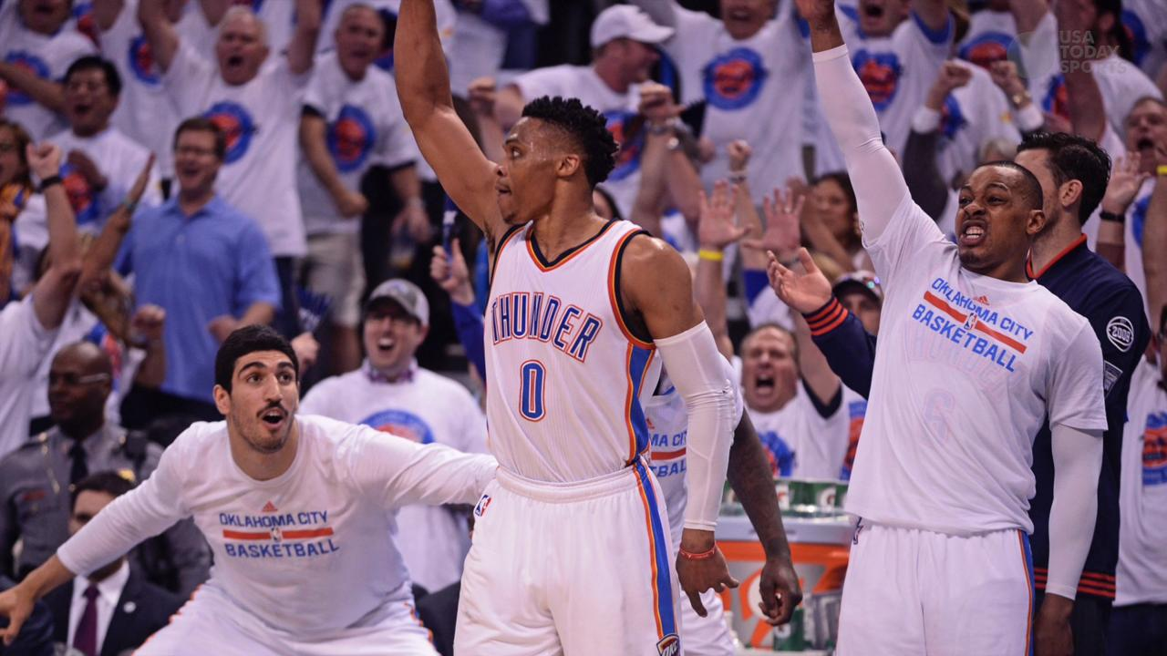 USA Today Sports' Sam Amick breaks down the Thunder's win over the Warriors in Game 4, which puts Oklahoma City one win away from advancing to the NBA Finals.
