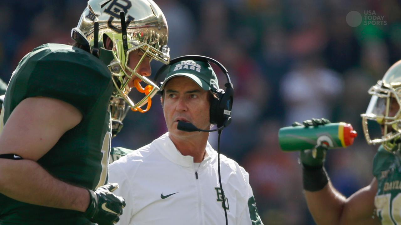 EMARGOED FOR FIXES    --   Art Briles Fired