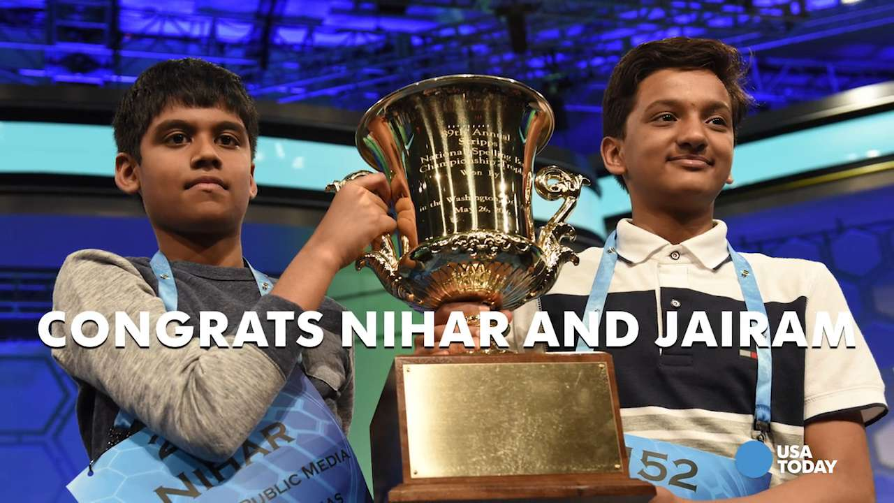 2016 Scripps National Spelling Bee crowns co-champions...again