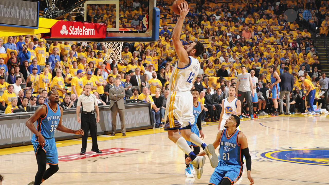 Andrew Bogut steps up in Warriors' Game 5 win vs. Thunder