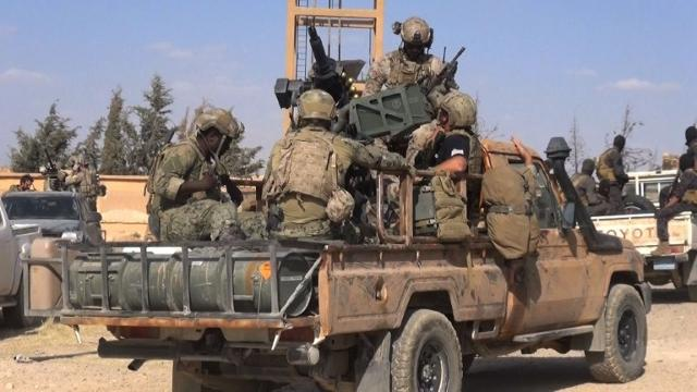 US forces on ground in Syria aiding key anti-IS fight