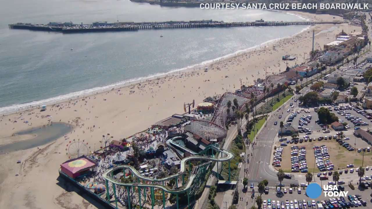 Iconic beach boardwalk offers the perfect summer escape
