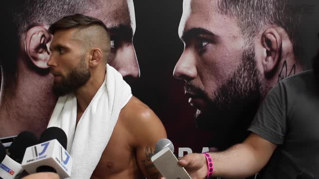 Jeremy Stephens full media scrum ahead of UFC Fight Night 88.m4v