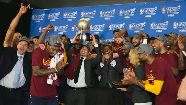 Cavaliers defeat Raptors, advance to second consecutive NBA Finals