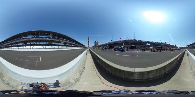 360 video: Magic of the Indy 500 with Townsend Bell