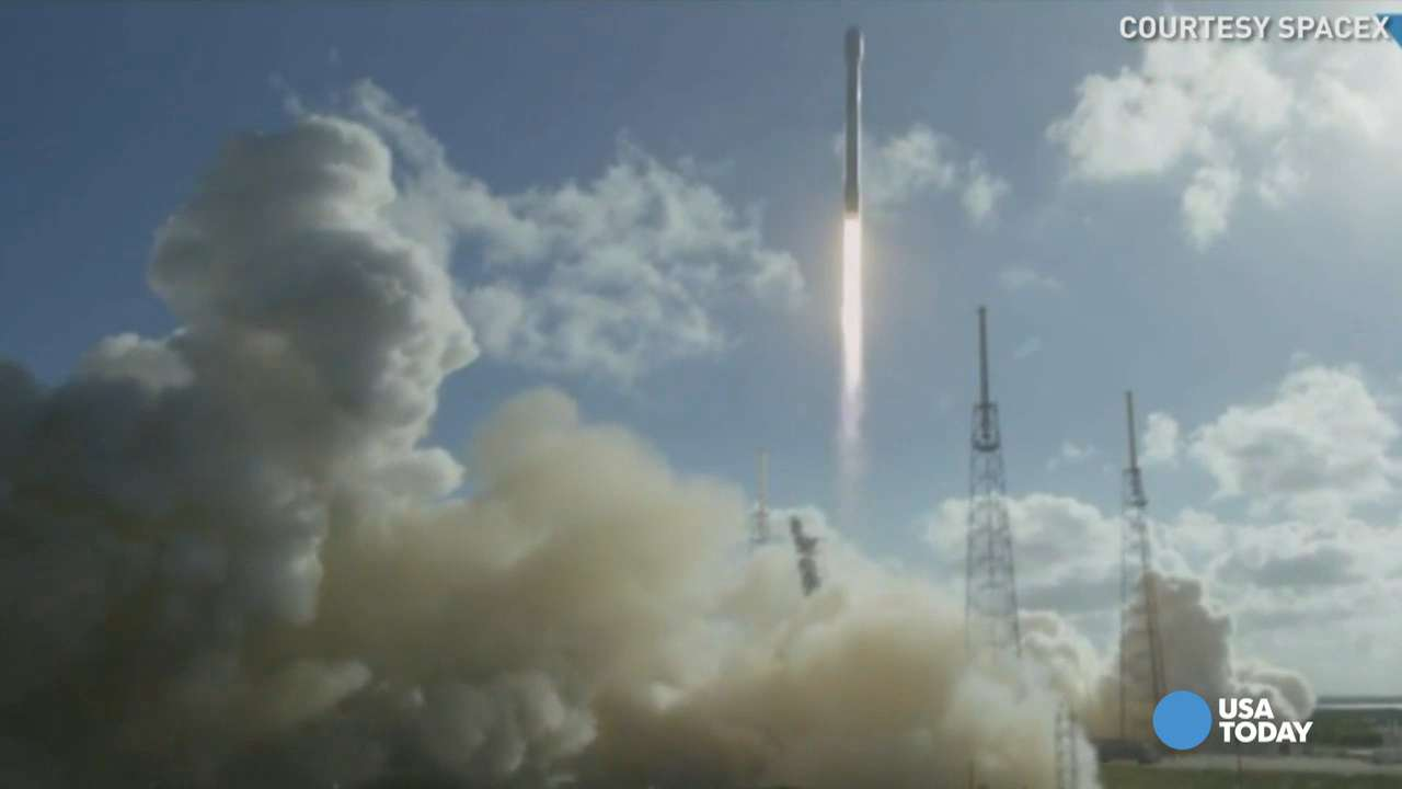 SpaceX rocket sucessfully launches and nails landing