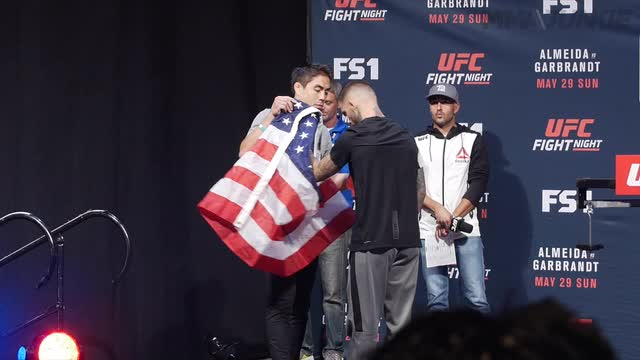 UFC Fight Night 88 weigh-in highlights