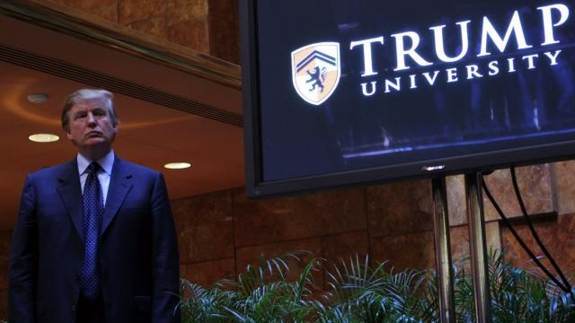 Judge orders release of Trump University documents