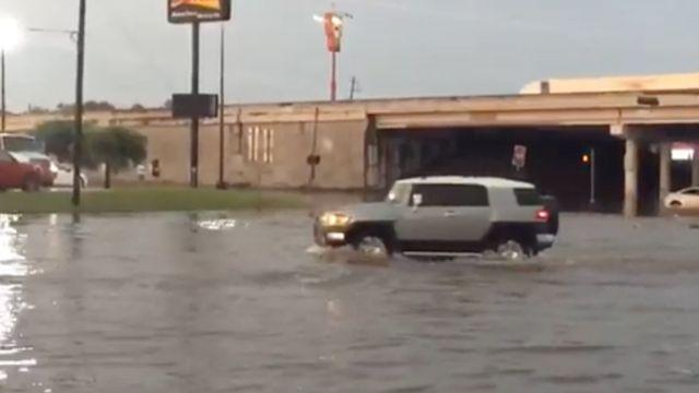Devastating Texas floods have killed at least six people. More rain is expected next week. Video provided by Newsy