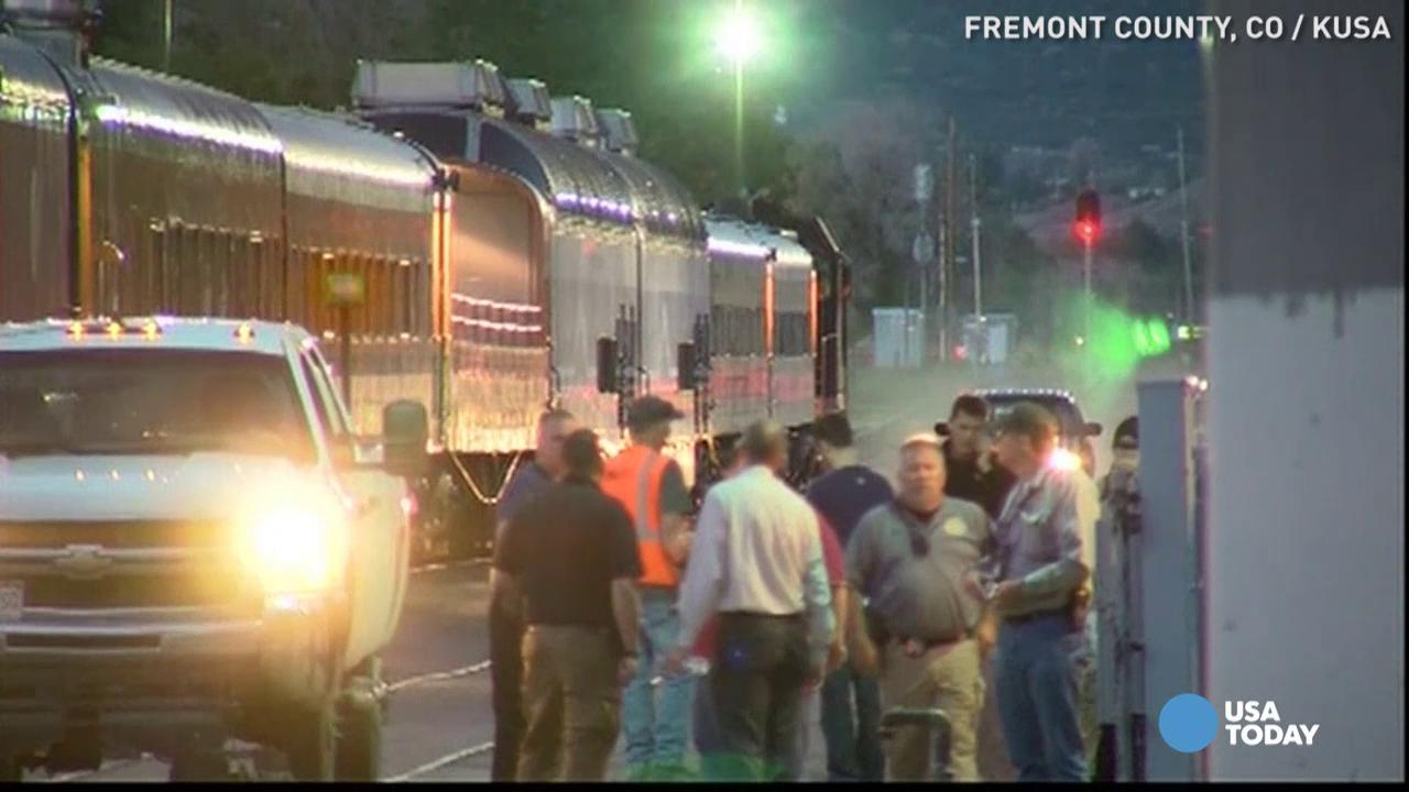 Royal Gorge conductor run over by train