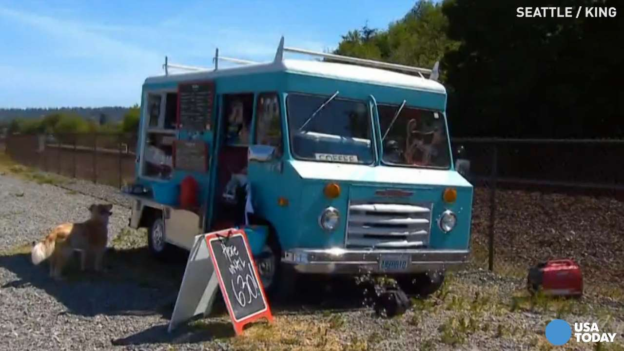 A food truck dedicated to dogs is thriving off of tail wags and face licks. The Seattle Barkery is a mobile shop where dog owners can get their pets wholesome and natural treats.