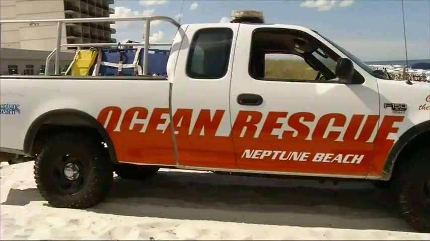 A Florida police spokesman says a 13-year-old boy was badly hurt after a shark attack in Neptune Beach on Sunday. (May 30)