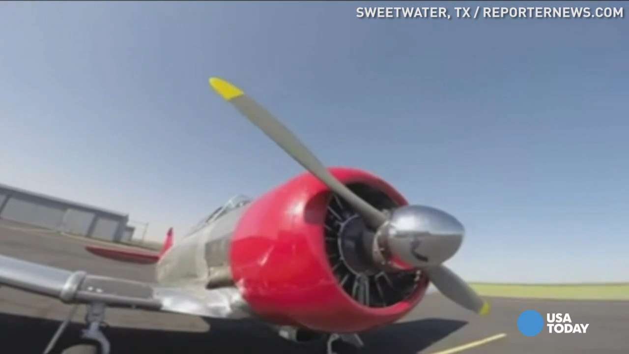 Watch a WWII plane take flight from inside the cockpit