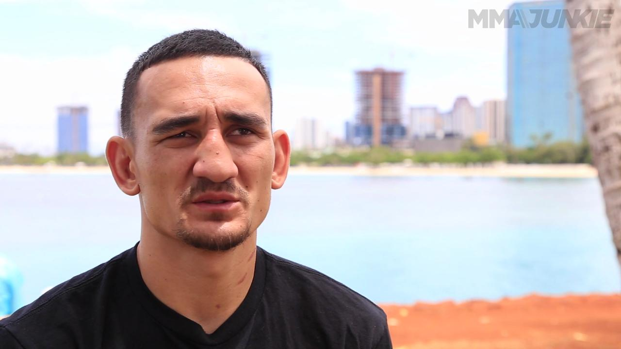 Why UFC's Max Holloway stays in Hawaii to stay hungry