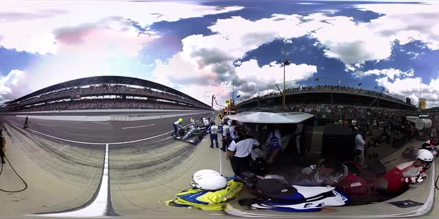 360 exclusive: Track to winner's circle at the Indy 500