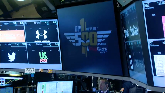Indy 500 Winner Rings NYSE Opening Bell