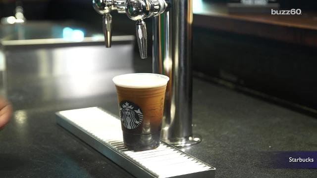 Nitro coffee is the latest trend, and Starbucks just couldn't stay away. Jordyn Rolling (@jordynrolling) can explain!