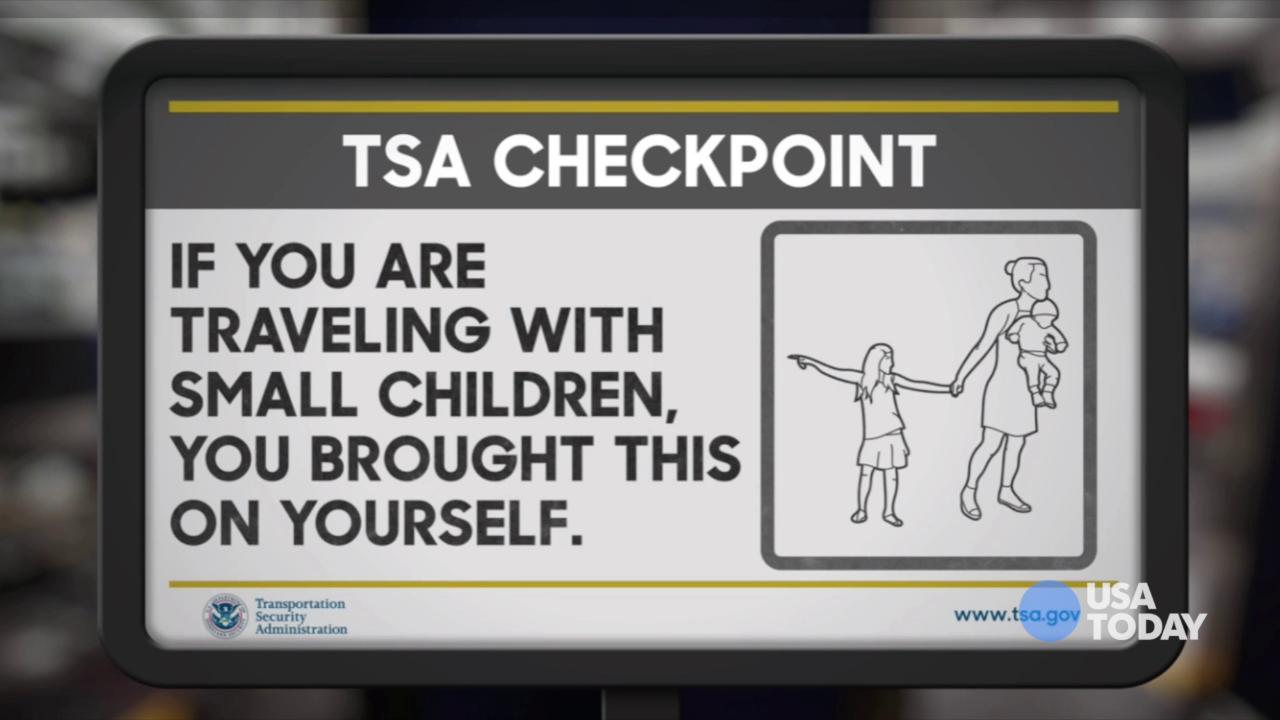 The late-night comics on TSA's attempts to make bad airport moments better. Take a look at our favorite jokes, then vote for yours at opinion.usatoday.com.