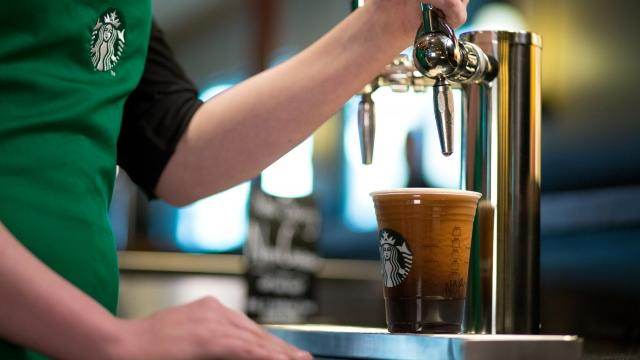 Starbucks is pushing out its nitrogen-infused iced coffee drinks to 500 U.S. locations. Video provided by Newsy