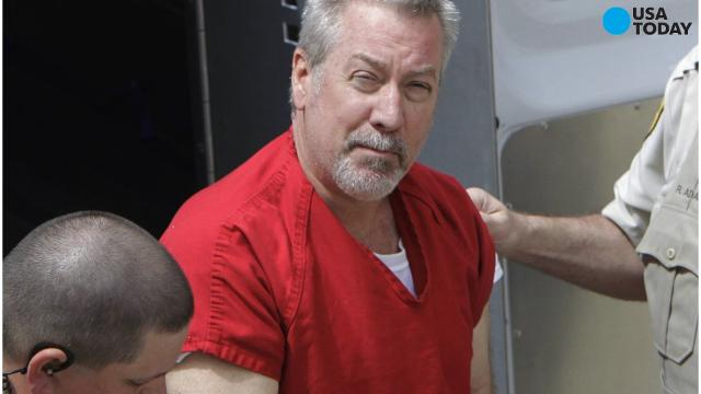 Former police officer Drew Peterson was found guilty of attempting to hire a hitman to kill the prosecutor who put him behind bars for killing his third wife.
