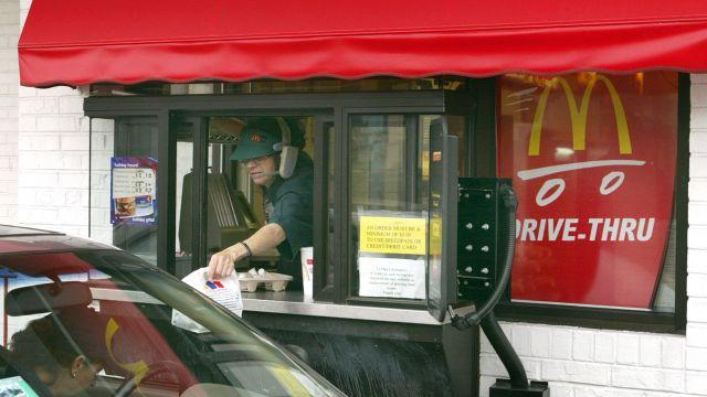 The company's vehicles only drive-thru policy is discriminatory against those with disabilities, according to a new lawsuit.Video provided by Newsy