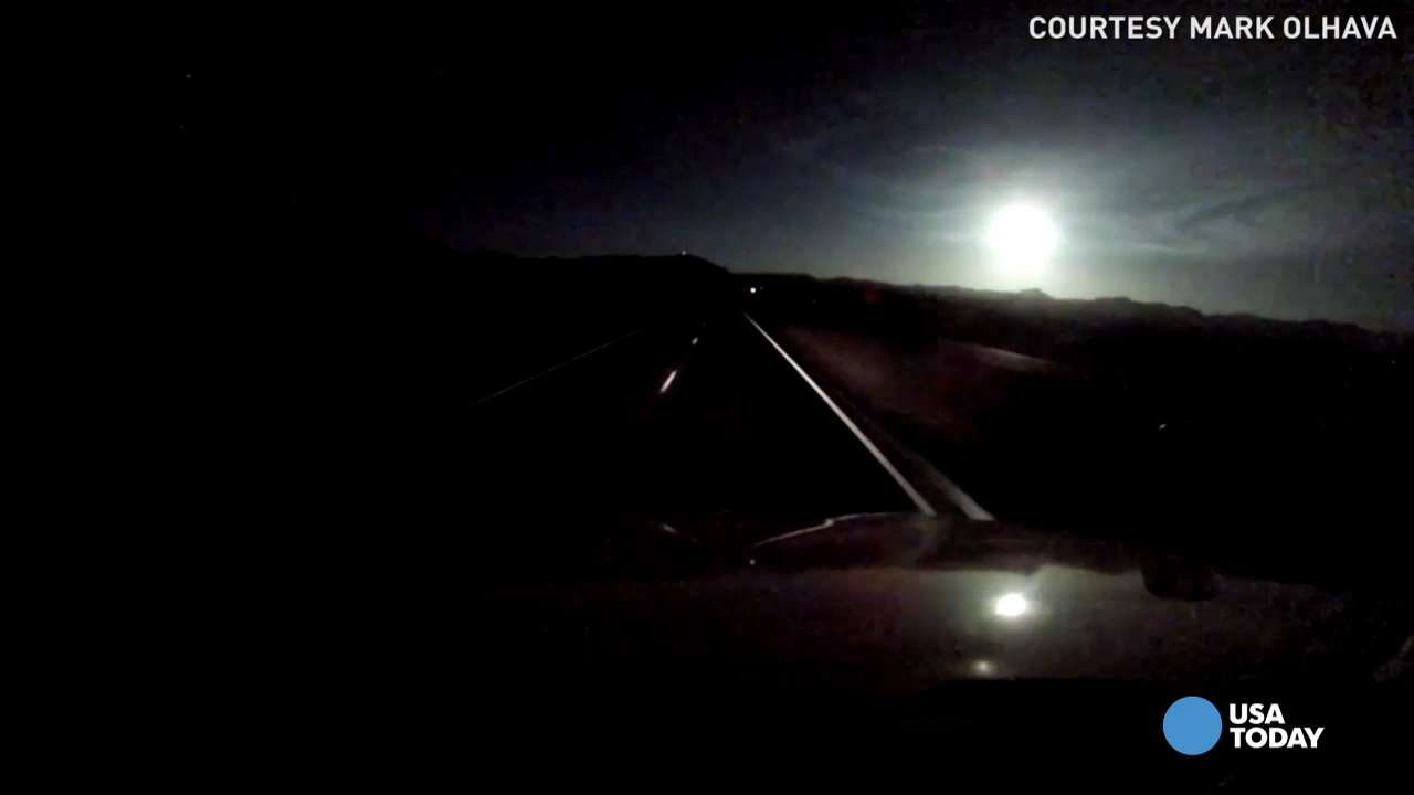 "Over 140 people reported a ""bright fireball"" and hearing a boom as what many believe to be a meteor flew across the sky. Experts say thousands of meteors enter the atmosphere every day, but few are ever as bright as this one."