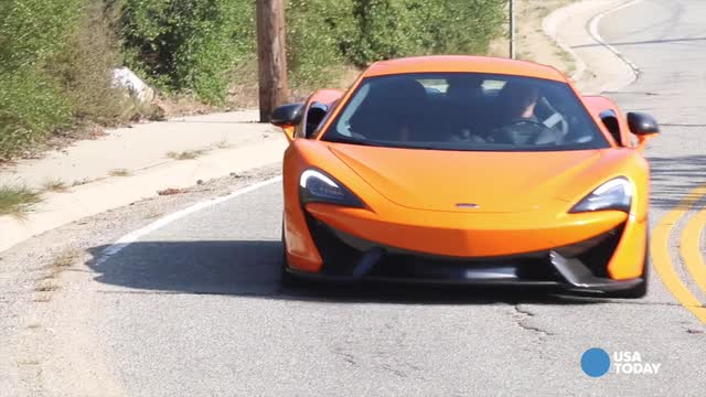 The 2016 McLaren 570S is an amazing performer on the street, USA TODAY's Chris Woodyard finds