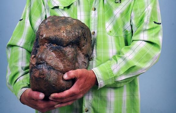 Man claims to have found Bigfoot skull
