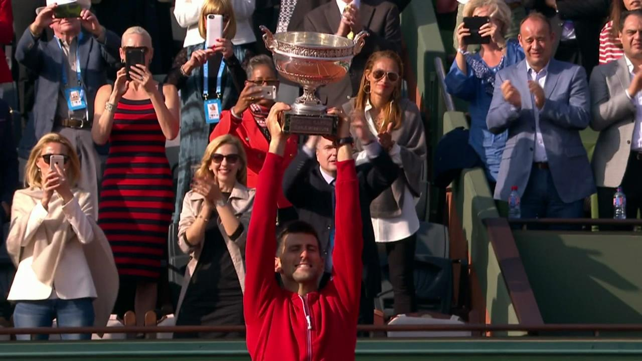 Tennis Channel Court Report recaps Djokovic's big win against Andy Murray.