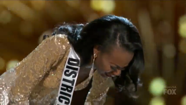 Army officer from District of Columbia wins Miss USA