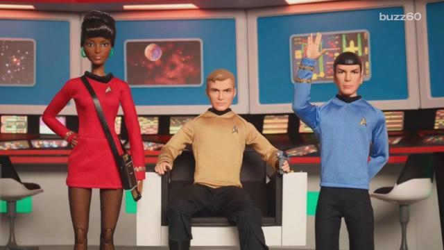 See Barbie's take on Star Trek