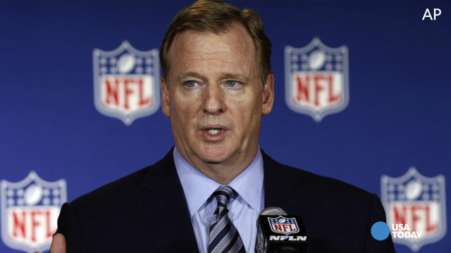 NFL Commissioner Roger Goodell was dead for a few minutes