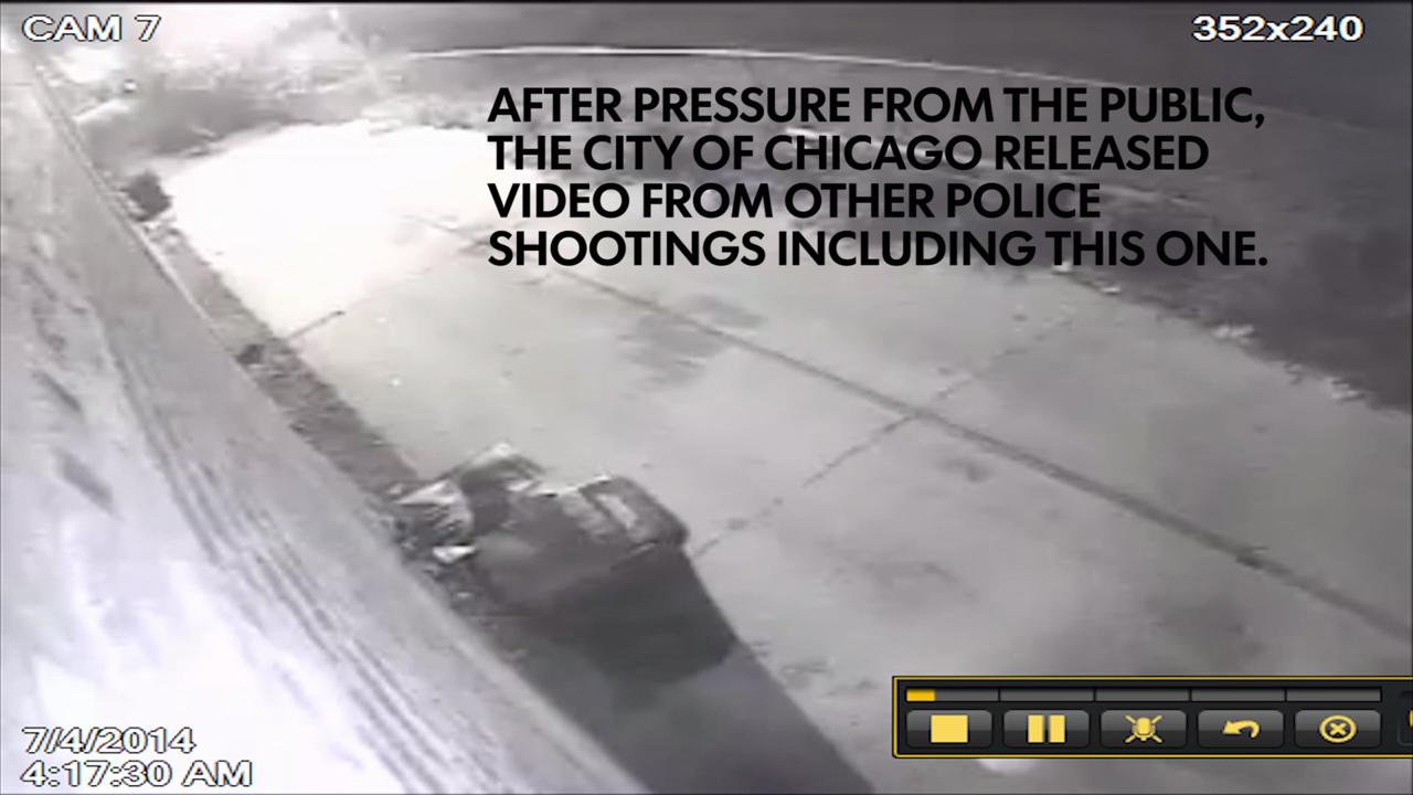 Chicago police release footage of shooting victim Dominiq Greer