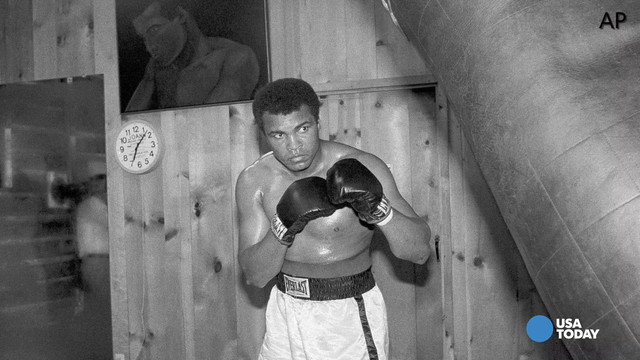 Greg Boeck recalls his favorite memory of covering Muhammad Ali.