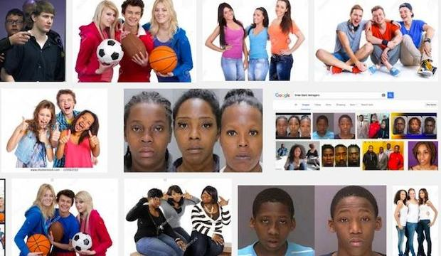 "Google image searches for ""three black teenagers"" and ""three white teenagers"" get very different results, raising troubling questions about how racial bias is reflected online."