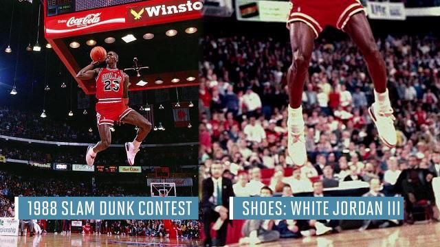 0de8102050dc The sneakers from Michael Jordan s most iconic moments