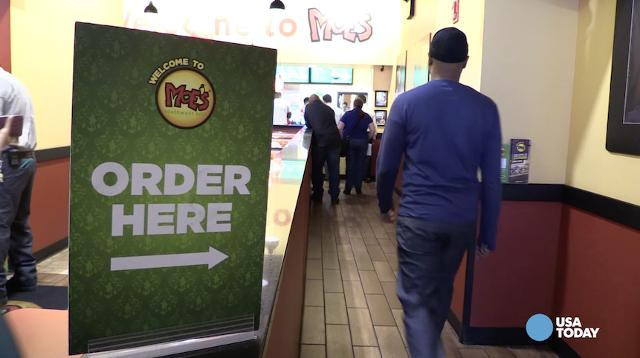 Harris Poll named Moe's the Brand of the Year for fast casual Mexican restaurants, ending Chipotle's three year run as their #1 chain.