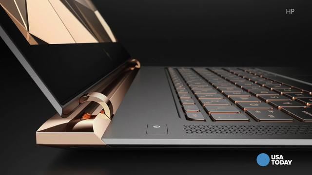 HP's ultraportable 13--inch Spectre notebook.