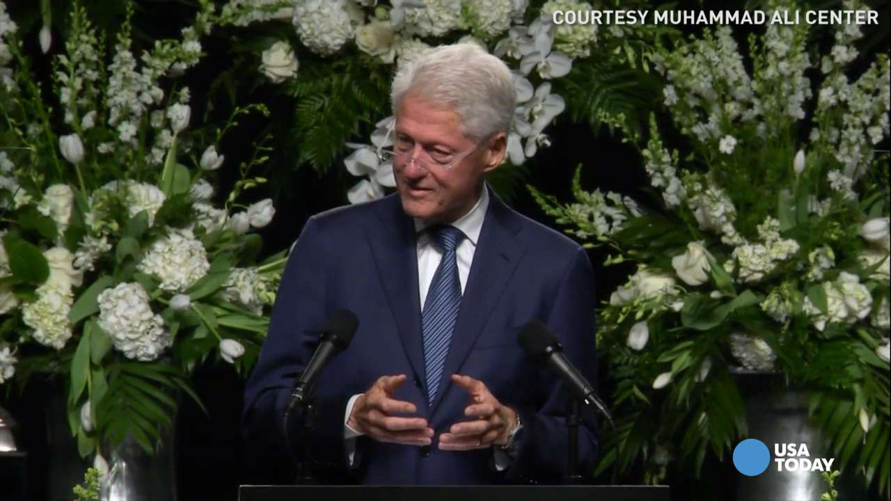 Bill Clinton: Muhammad Ali wrote his own life story