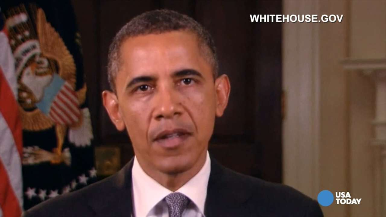 Again and again, Obama addresses the nation after a mass shooting