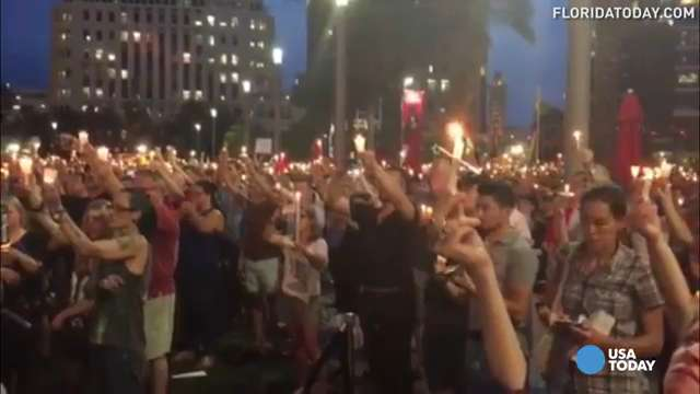 Hundreds gather in Orlando to honor shooting victims