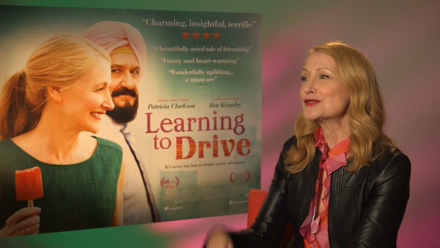 The stars of new indie drama 'Learning to Drive,' Patricia Clarkson and Sir Ben Kingsley, reveal the latest skills they've learned. (June 13)