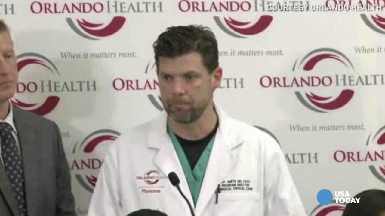 Orlando doctors: Mass shooting aftermath 'a war scene'