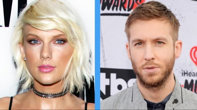 Calvin Harris and Taylor Swift are in a social media cold war