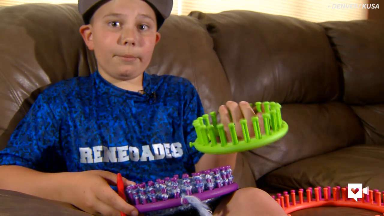 This 10-year-old has a secret skill that helps kids