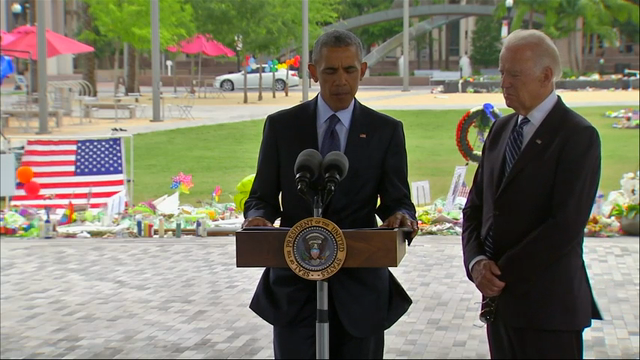 Obama offers condolences to Orlando victims