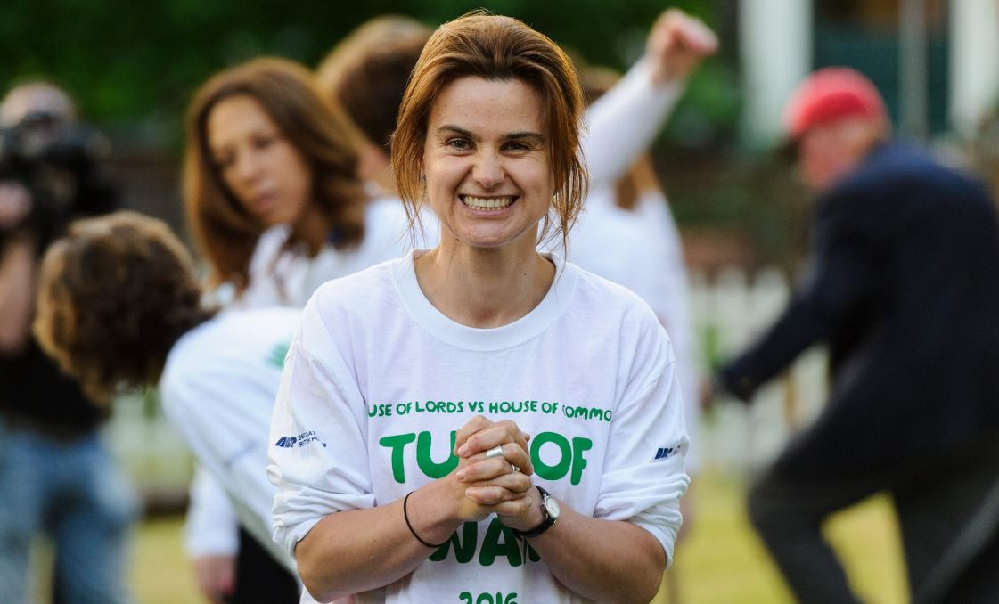 Who was slain British lawmaker Jo Cox?
