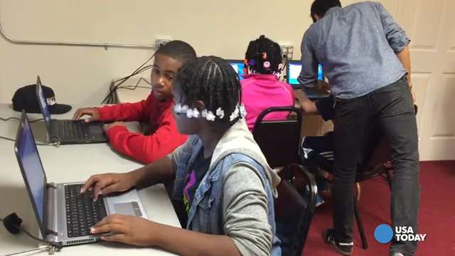 Churches are teaching black kids to code